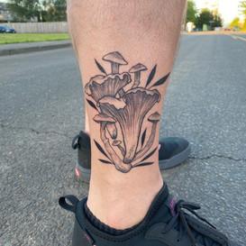 sea shell tattoo