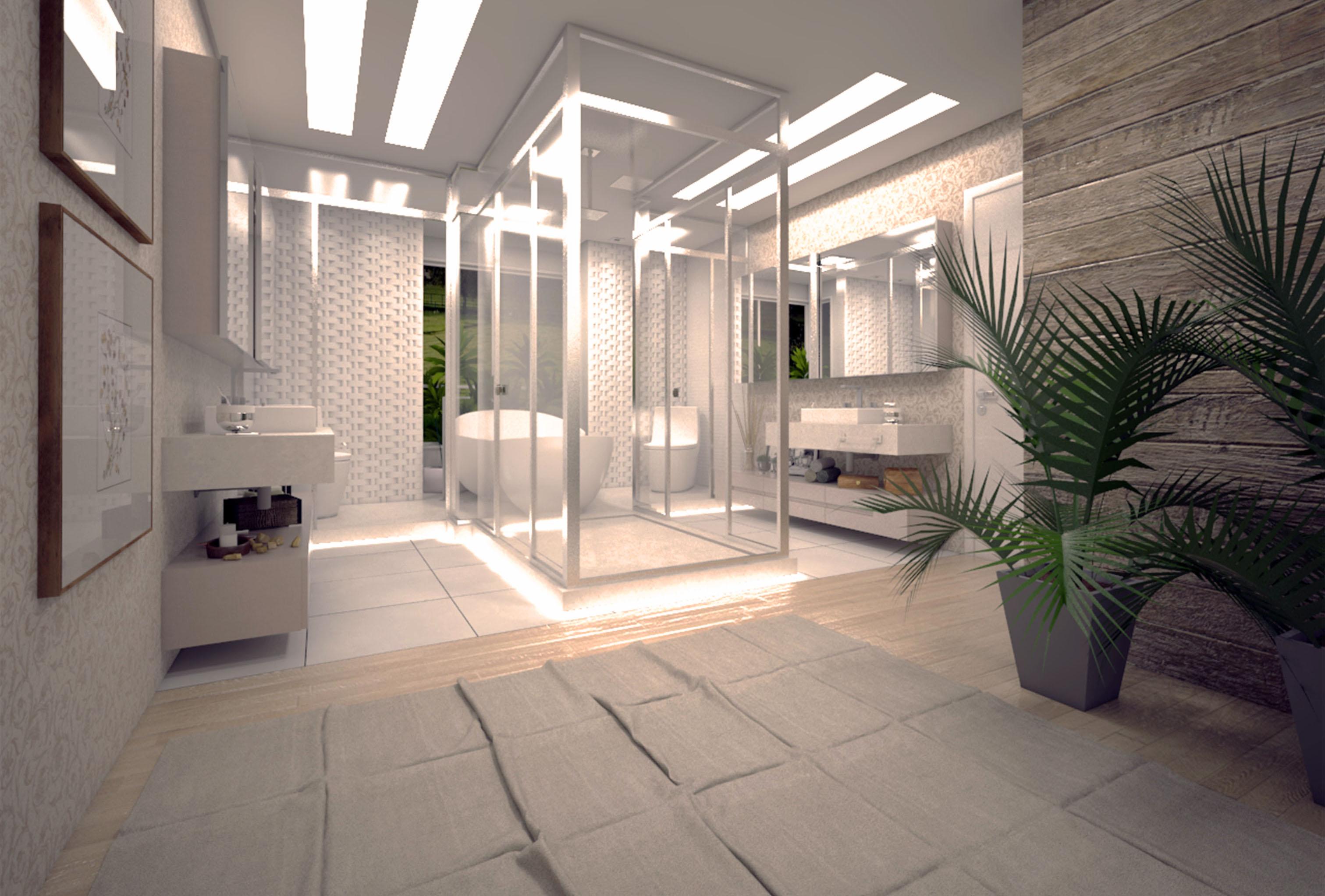 Casa Brusciana -Box banho suite-