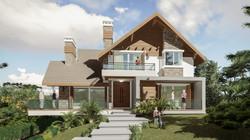 Casa Brusciana-Fachada