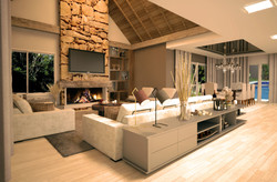 Casa Brusciana -Sala estar/jantar-