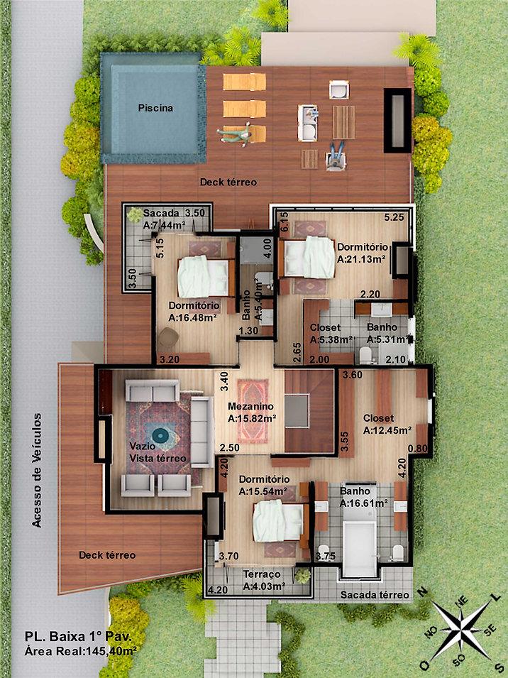 Casa Brusciana -1º pavimento