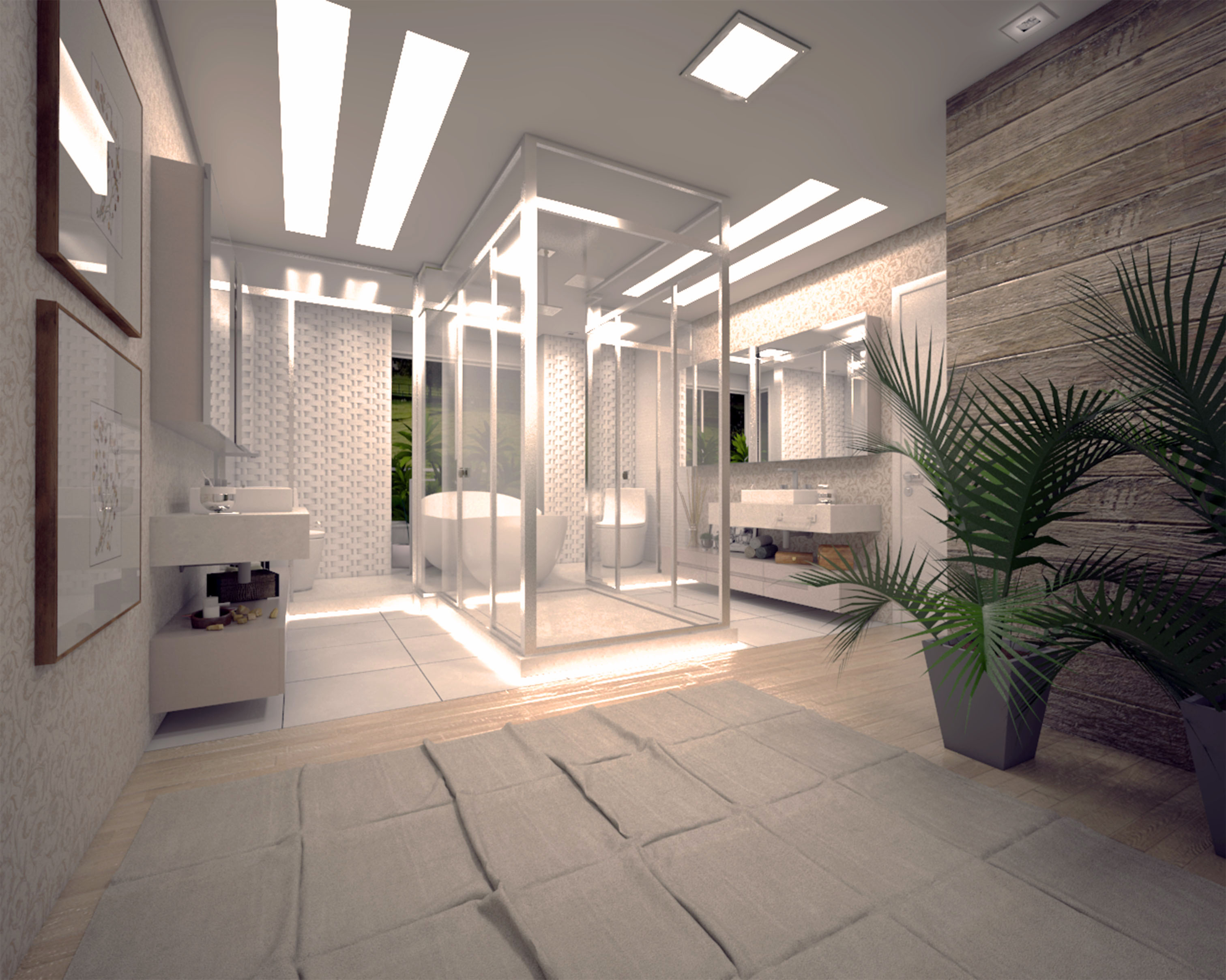 Casa Brusciana - Banheiro duplo