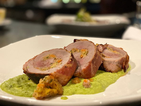 PANCETTA WRAPPED PORK ROULADE