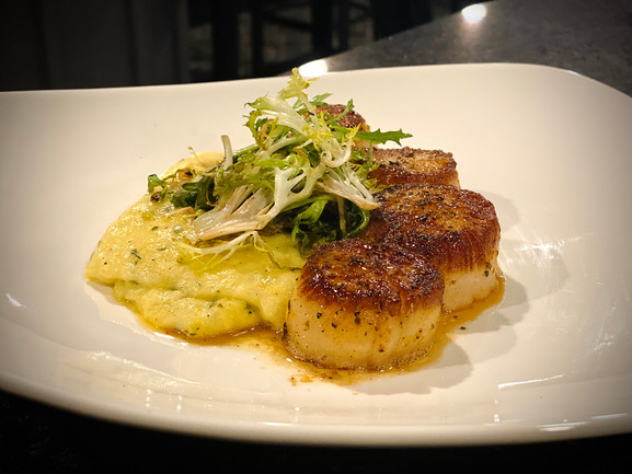SPICED SCALLOPS