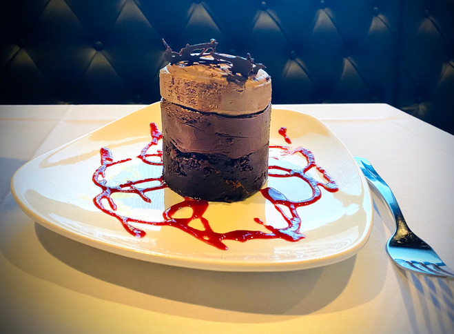 """""""Room for dessert?"""" is not actually a question."""