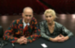 John Waters and Cate Imperio