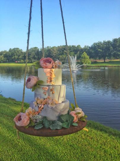 Hanging Wedding Cake