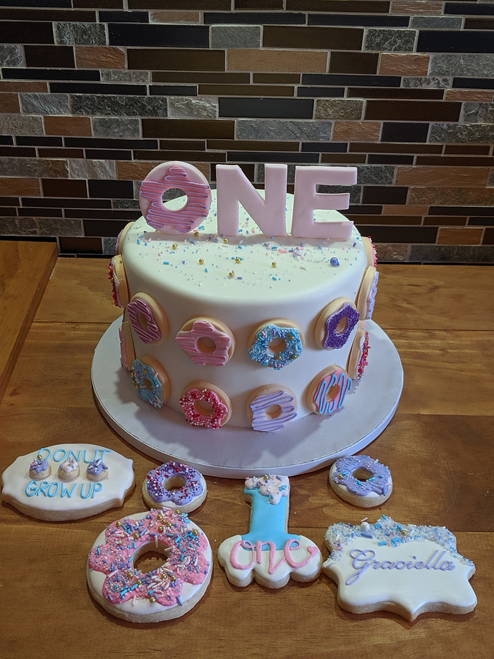 Donut Grow Up Cake