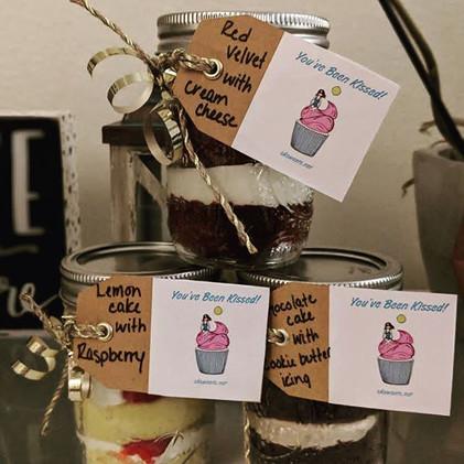 Custom Cake Jars