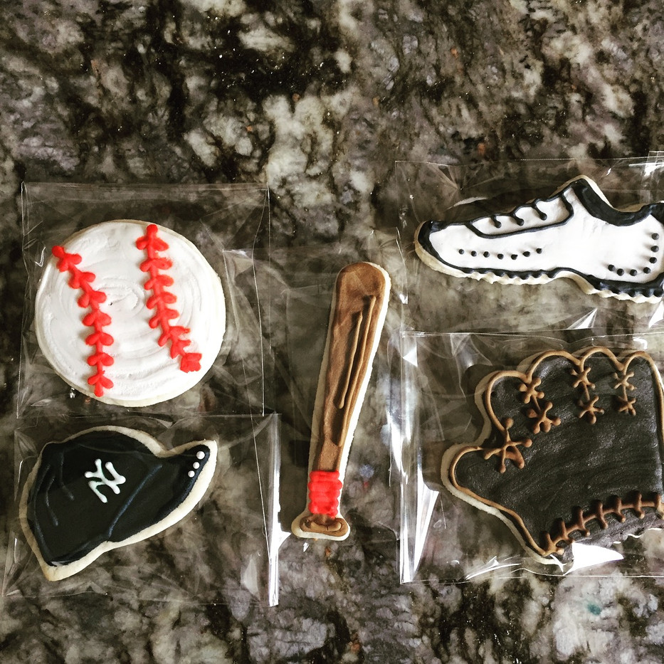 Baseball Theme Cookies