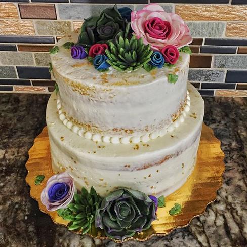 Succelent cake