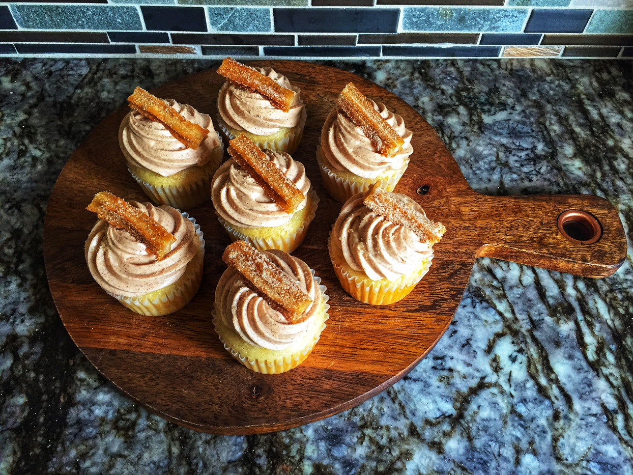 Churros Cupcakes