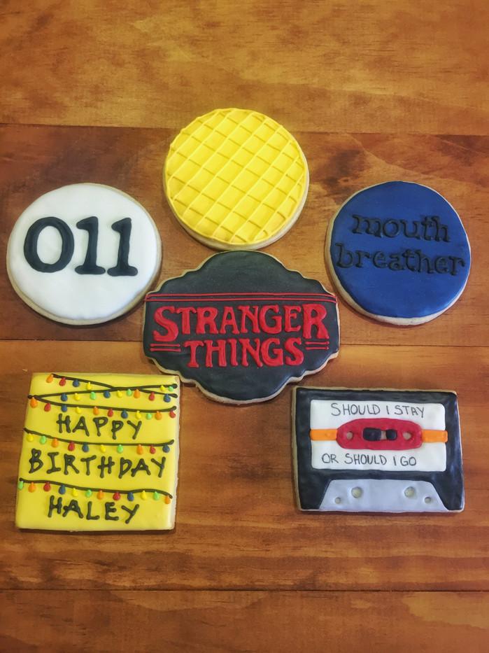 Stranger Things Cookies