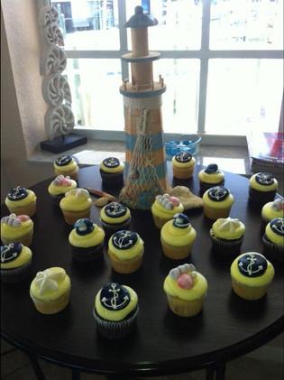 Sea Theme cupcakes