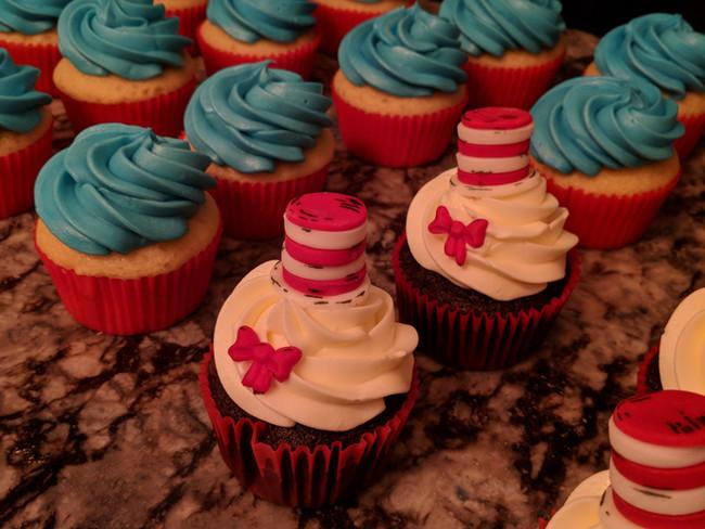 Dr . Seuss Cupcakes