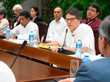 'Firme voluntad de lograr acuerdo de paz que beneficie a todos': Bell Lemus