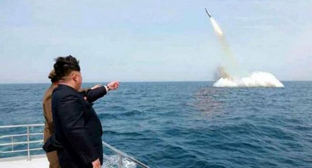 El líder norcoreano Kim Jong vigila una prueba nuclear. / Foto: Ámbito Financiero - Ambito.com