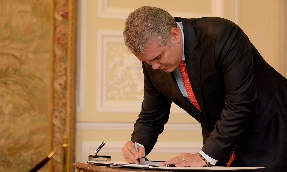 Foto: Nicolás Galeano, Presidencia de la República.