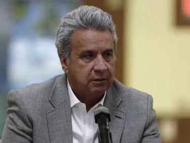 Lenín Moreno ordena frenar conversaciones con ELN en Ecuador