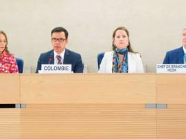Colombia presentó informe de derechos Humanos a ONU en Ginebra