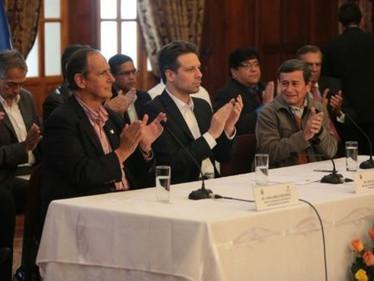 Comunicado de delegaciones del Gobierno y ELN