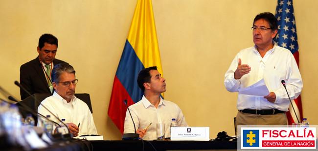 En total son 1.800 las investigaciones por casos de violencia contra líderes sociales y sindicalistas y políticos de izquierda. / Foto: Fiscalía General de la Nación