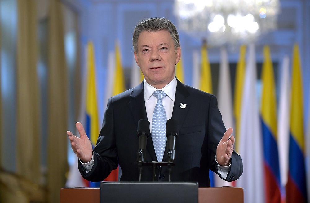 Presidente Juan MAnuel Santos. /Foto: Efraín Herrera, SIG