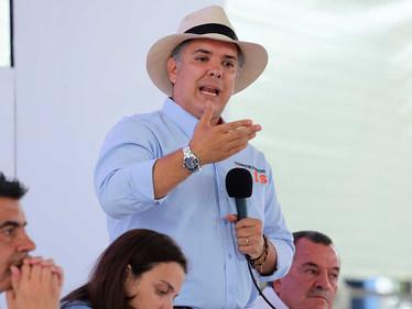 'Infame secuestro de menor en el Chocó': presidente Duque