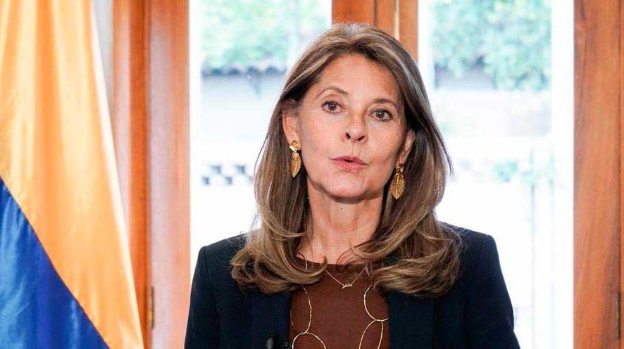 Vicepresidenta de la República Marta Lucía Ramírez. / Foto Vicepresidencia.