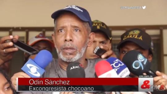 Odín Sánchez. Foto tomada al canal de CM&.