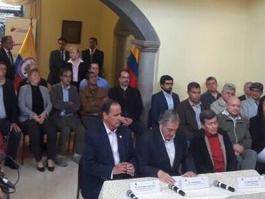 Disminuir intensidad de conflicto, primer paso de mesa de Quito