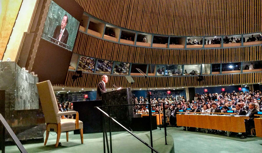 Foto: @UN_Spokesperson, SIG.