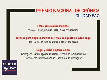 Premio Nacional de Crónica
