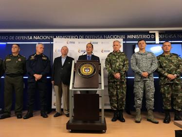 """Fuerzas Armadas """"cumplirán compromisos de cese al fuego"""": Mindefensa"""