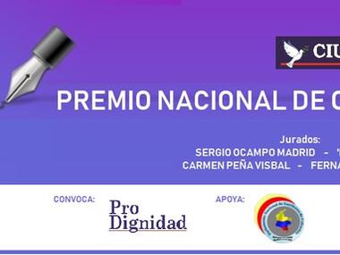 10 finalistas del Premio Nacional de Crónica