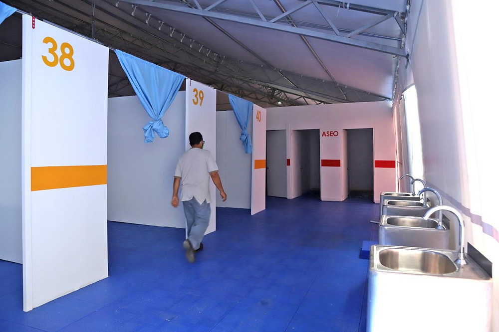 El hospital de emergencia, donado por Bavaria e Itaú, atenderá a pacientes dignosticados  con Covid_19.
