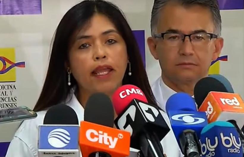 Claudia Adriana Garcia Fino, directora de Medicina Legal.