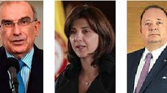De la Calle, Holguín y Villegas hablarán con el Centro Democrático