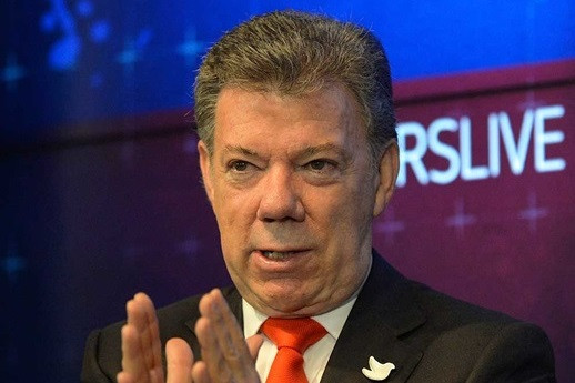 Presidente Juan Manuel Santos. (César Carrión, SIG).