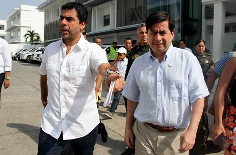 El ministro Juan Fernando Cristo expresó que con la inversión realizada se recuperará la confianza y percepción de seguridad en Barranquilla.