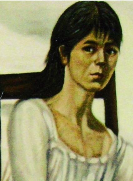 Juana Velasco de Gallo. Óleo del artista Jaime Ortiz.