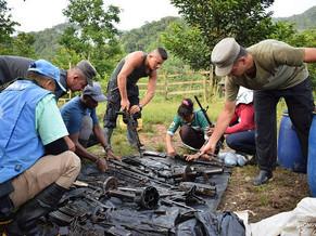 Misión de ONU finaliza actividades de extracción de caletas de las Farc-EP