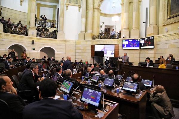 Plenaria del Senado de la República. / Foto: Prensa Senado.
