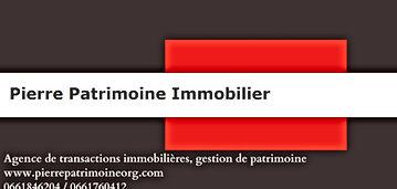 Pierre Patrimoine Immobilier