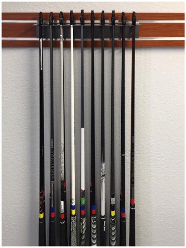 Golf Shaft Grip Component Displays