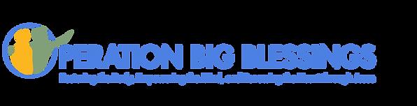 operation big blessing Logo woth tagline