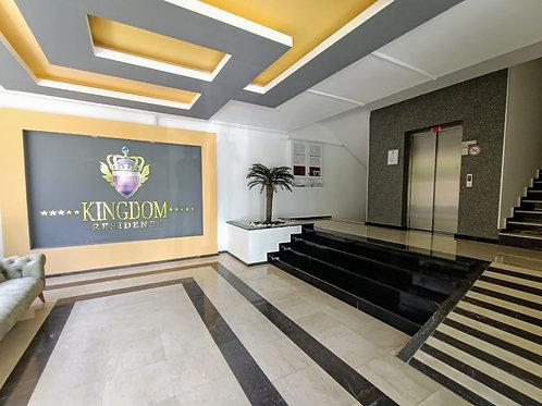 Уютная квартира 2+1 в престижном Kingdom rezidense в Алания Кестель - 201275