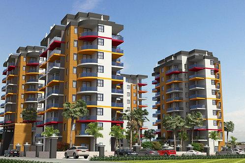 Новостройка! Квартиры в новом комплексе в Махмутлар - 201256