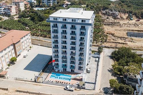 Квартира 1+1, «Novita 6 Residence» в районе Махмутлар,Алания (код 201047)