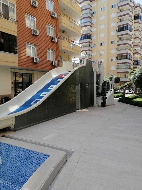 Квартира-дуплекс 2+1 Махмутлар, Алания (код 201125)